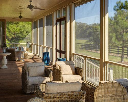 Screen Porch Furniture Houzz