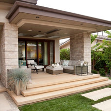 Contemporary Porch by Sage Outdoor Designs