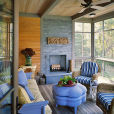 Beach Style Porch by Breese Architects