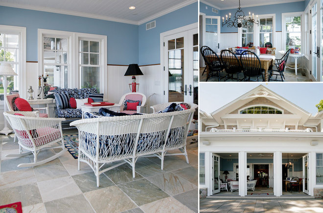 Eclectic Porch by Martin Bros. Contracting, Inc.