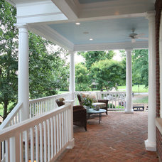 Contemporary Porch by Crawford Builders