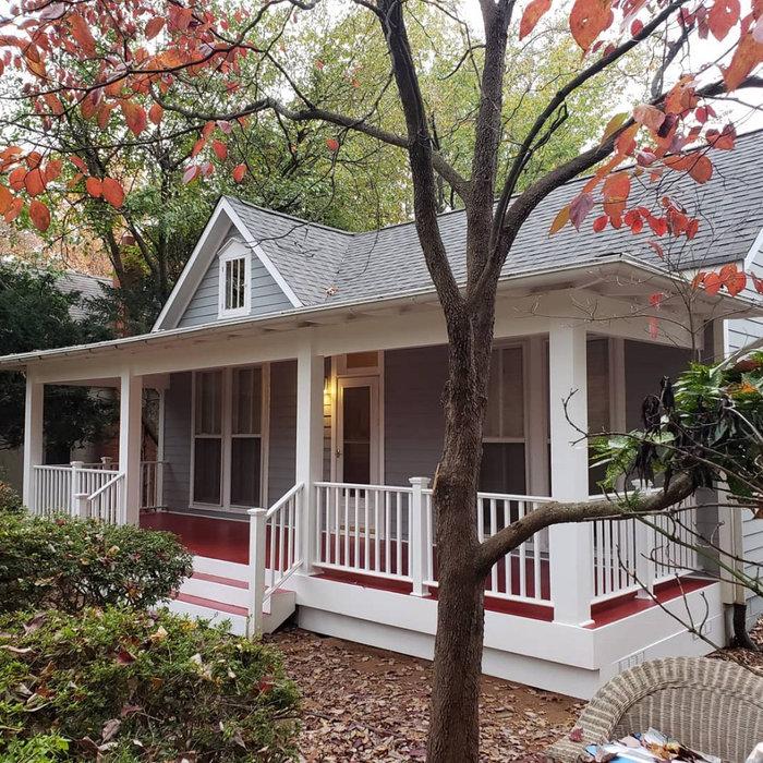 Beautiful Custom Porch