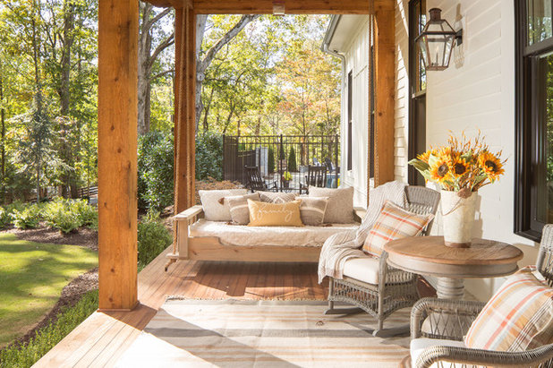 Farmhouse Porch by David Cannon Photography