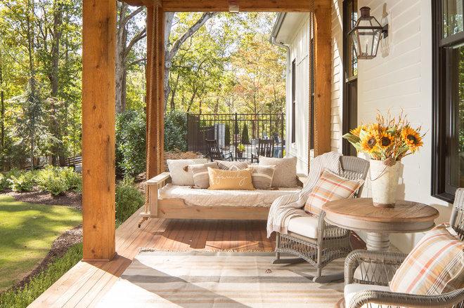 Farmhouse Porch by David Cannon Photography
