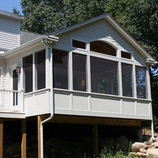 Traditional Porch by Remodeling Masters