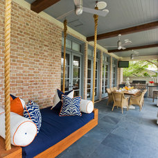Contemporary Porch by Laura U, Inc.