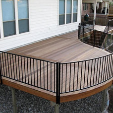 Traditional Porch by Austin Deck Company