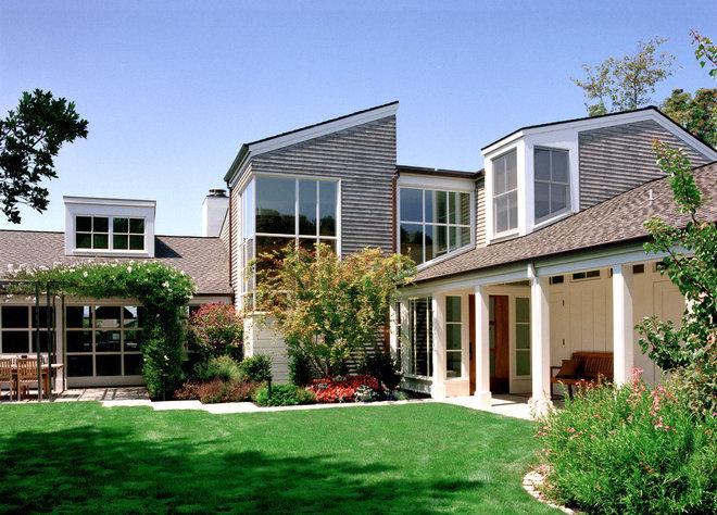 Transitional Porch by Sutton Suzuki Architects