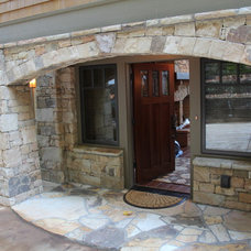 Traditional Porch by Living Stone Construction, Inc.