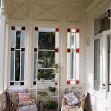 Traditional Porch by ACR Villa Skovly