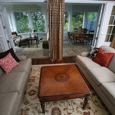 Traditional Porch by Beth Goldfarb