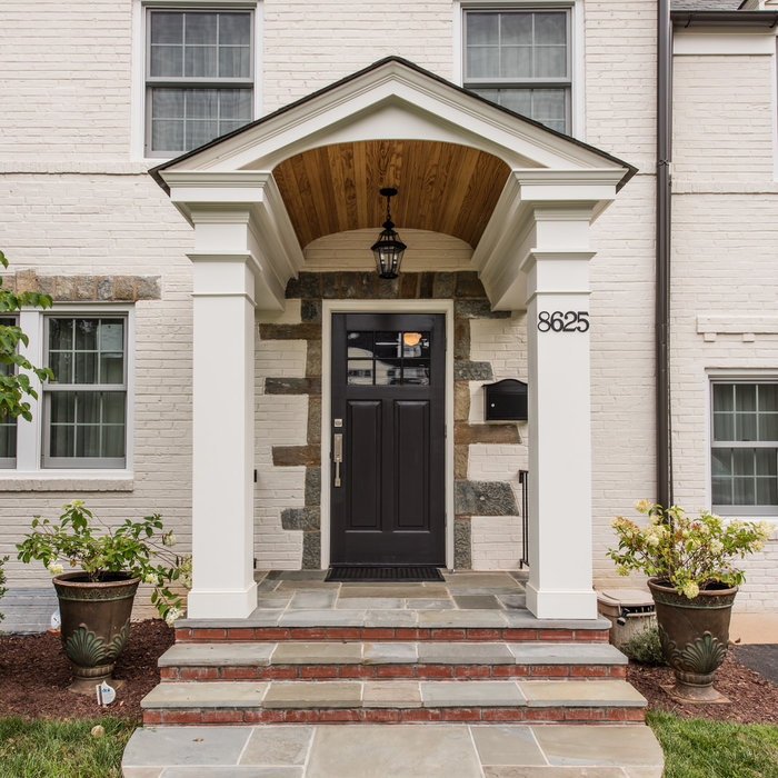 Bethesda, MD Eclectic House Renovation & Kitchen Addition