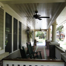 Traditional Porch by William Leuthold Architect, Inc.