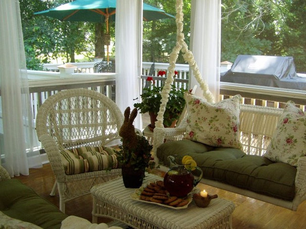 Traditional Porch by Between Naps on the Porch