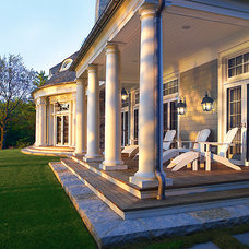 Traditional Porch by Wade Weissmann Architecture