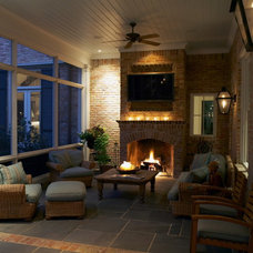 traditional porch by Bill Bolin Photography