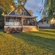 Traditional Porch by MGA Renovations