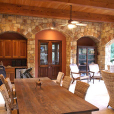 Traditional Porch by David Young Homes, Inc.