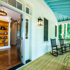 Traditional Porch by Gerald D. Cowart, AIA, LEED  AP