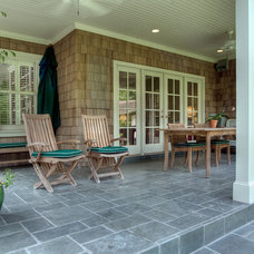 Traditional Porch by Atticus Architecture
