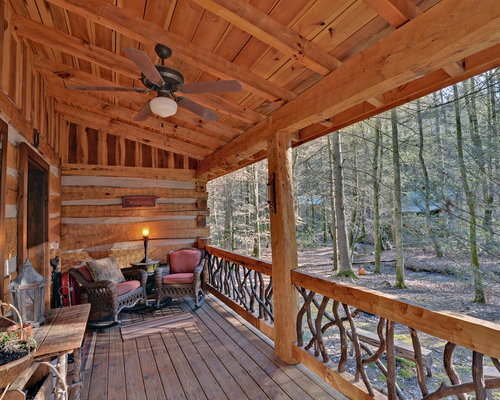 Cabin Deck Home Design Ideas Pictures Remodel And Decor