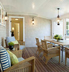 traditional porch by Su Casa Designs