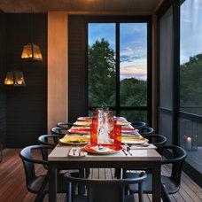 Modern Porch by Blaze Makoid Architecture
