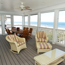 Traditional Porch by Boardwalk Builders
