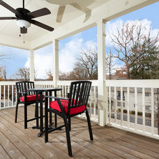 Transitional Porch by Greenhouse Properties of Atlanta