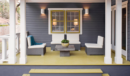 Enliven Your Porch With Color