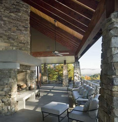 contemporary porch by Eck | MacNeely Architects inc.