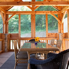 Rustic Porch by Phil Weber Photography