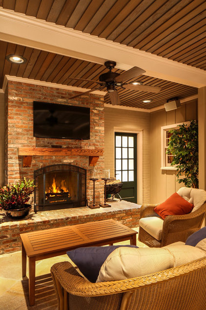 Traditional Porch by Connelly Construction, LLC