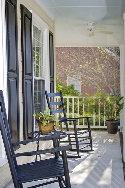 Traditional Porch by Shop Just Perfect!