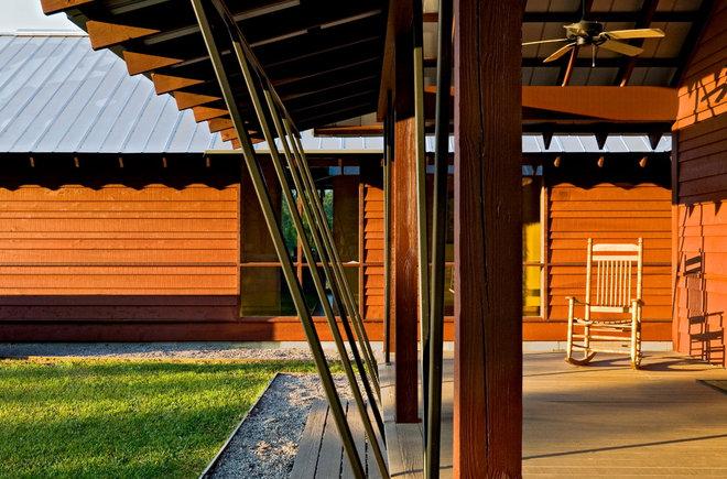Farmhouse Porch by Robert M. Cain, Architect