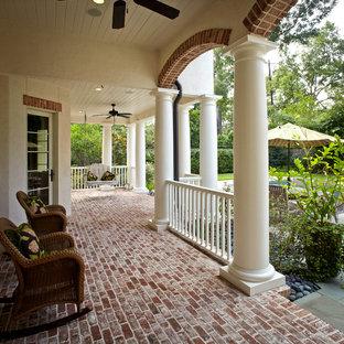 Elegant porch photo in Houston