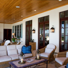 Traditional Porch by Village Architects AIA, Inc.