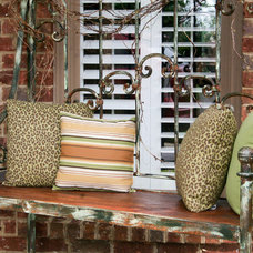Eclectic Porch by Southern Flair Designs