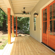 Craftsman Porch by Kevin Aycock Homes