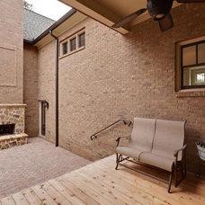 Traditional Porch by Blake Shaw Homes, Inc
