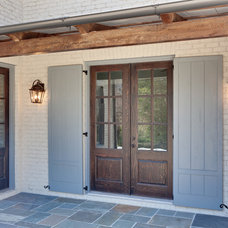 Traditional Porch by Blake Shaw Homes, Inc