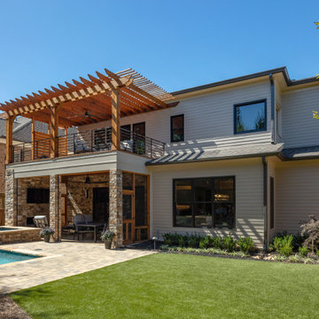 Brookhaven Plunge Pool & Outdoor Living Oasis
