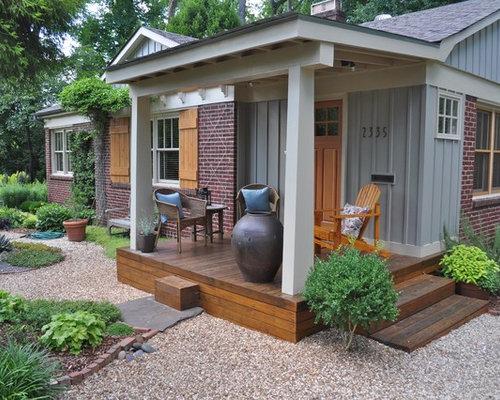 Idee e foto di portico eclettici for Idee di portico contadini
