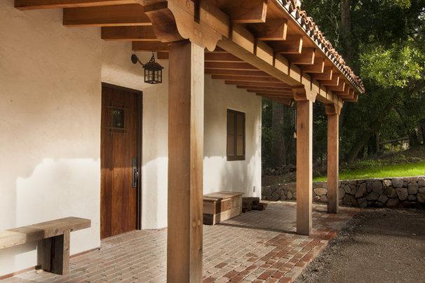 Mediterranean Porch by FGY Architects