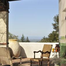 Southwestern Porch by FGY Architects