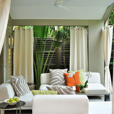 Contemporary Porch by BURLEYATESDESIGN