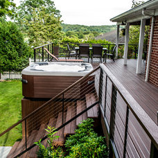 "Traditional Porch by Long Island Hot Tub ""Hot Tub and Pool Experts"""