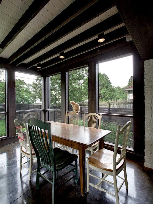 Craftsman screened in porch design ideas remodels for Craftsman style screened porch