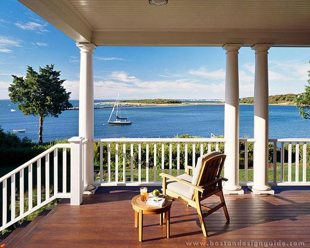 Traditional Porch by Boston Design Guide