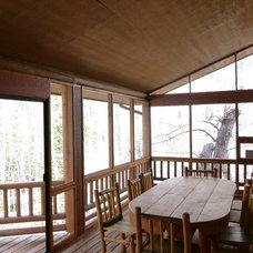 Traditional Porch by Nicholas Modroo Designs, LLC